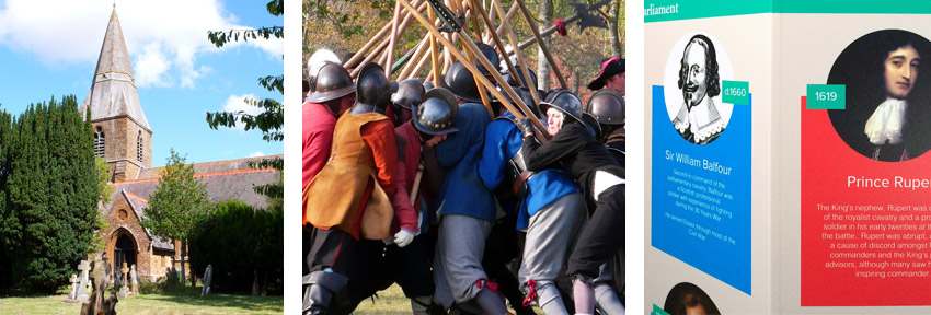 Radway Battle of Edgehill Exhibition scenes